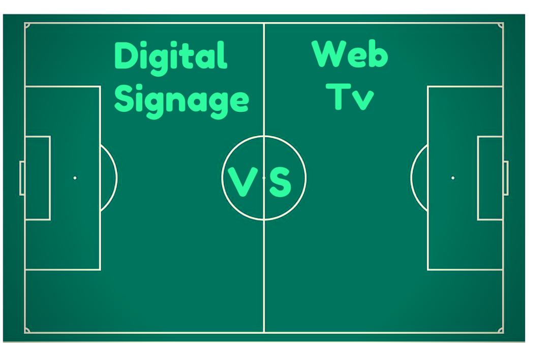 Digital signage ! Non chiamatelo web tv!